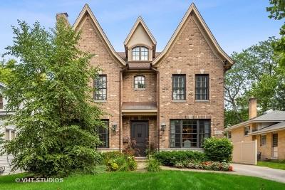 Western Springs Single Family Home For Sale: 4467 Harvey Avenue
