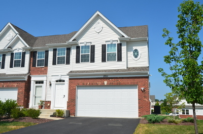 Plainfield Condo/Townhouse For Sale: 12911 Cypress Lane
