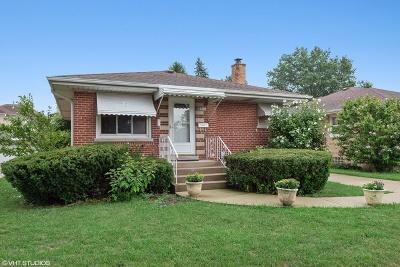 Morton Grove Single Family Home For Sale: 9121 Birch Avenue