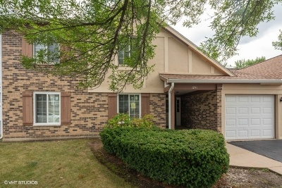 Westmont Condo/Townhouse For Sale: 1241 Williamsport Drive #3