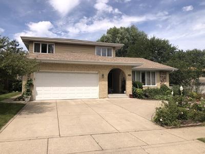 Palos Heights, Palos Hills Single Family Home Price Change: 8554 Broadmoor Drive