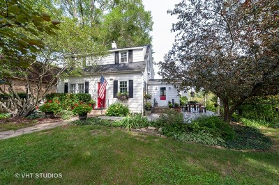 Barrington Single Family Home Price Change: 8910 Roland Drive