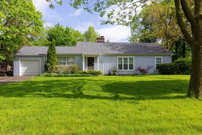 Hinsdale Single Family Home Price Change: 833 Chestnut Street