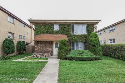 Westchester Multi Family Home Price Change: 1660 South Mannheim Road