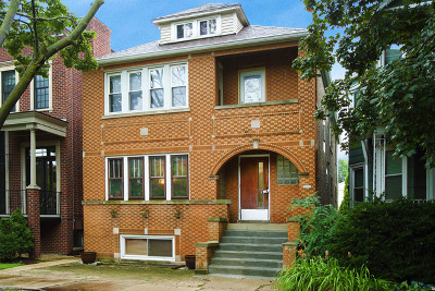 Chicago Multi Family Home For Sale: 2037 West Hutchinson Street