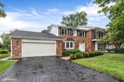 Oak Brook Single Family Home For Sale: 19w121 Avenue Chateaux North