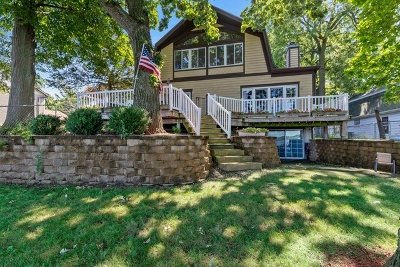 Fox Lake Single Family Home Contingent: 154 Eagle Point Road