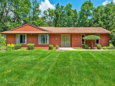Warrenville Single Family Home For Sale: 29w274 Renouf Drive