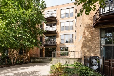 Condo/Townhouse For Sale: 1330 West Monroe Street #410