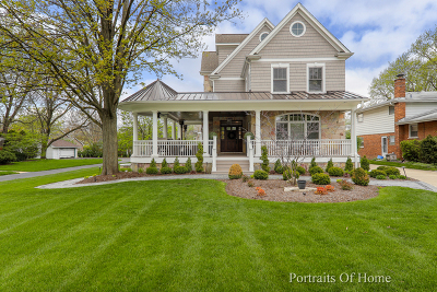 Western Springs Single Family Home For Sale: 5142 Lawn Avenue