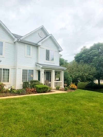Fox Lake Condo/Townhouse For Sale: 641 Crystal Springs Court