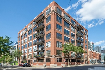 Condo/Townhouse For Sale: 850 West Adams Street #4E