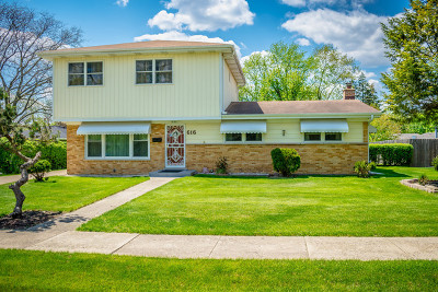 Roselle Single Family Home Re-Activated: 616 White Oak Drive