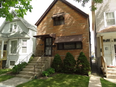 Single Family Home For Sale: 3317 North Whipple Street