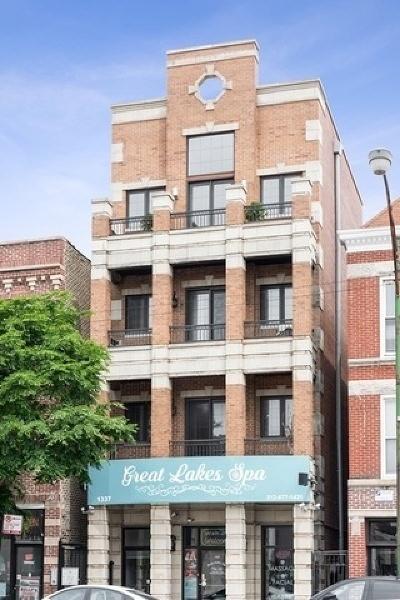 Condo/Townhouse For Sale: 1337 North Ashland Avenue #3
