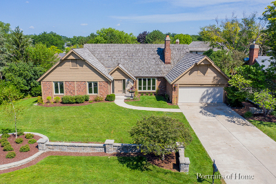 Darien Single Family Home For Sale: 1622 Coachmans Road