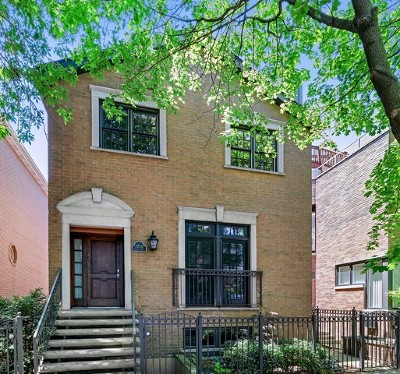 Single Family Home For Sale: 1710 North Burling Street