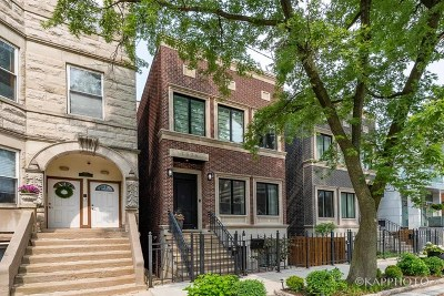 Single Family Home For Sale: 1836 North Wood Street