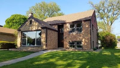 Skokie Single Family Home Price Change: 8021 Tripp Avenue