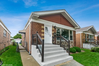 Chicago Single Family Home New: 5120 South Natchez Avenue