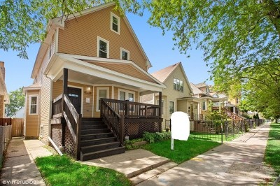 Single Family Home For Sale: 4706 North Springfield Avenue