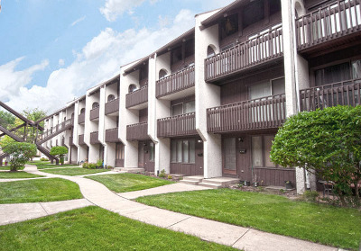 Niles Condo/Townhouse For Sale: 6600 Woodriver Drive #208B