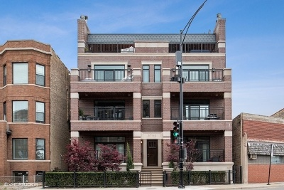 Condo/Townhouse For Sale: 3764 North Clark Street #2S