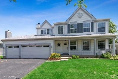 Carol Stream Single Family Home Price Change: 797 Longmeadow Drive