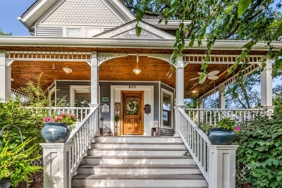 Glen Ellyn Single Family Home For Sale: 620 North Main Street