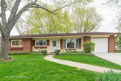Hanover Park Single Family Home For Sale: 7351 Princeton Circle Drive
