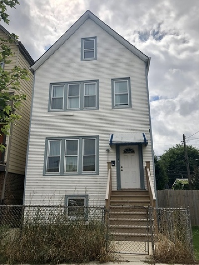Multi Family Home For Sale: 2547 West Homer Street