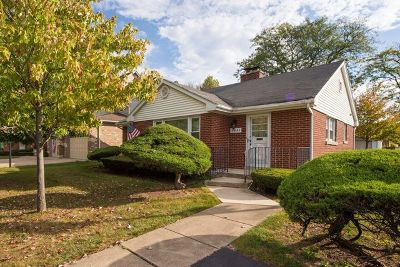 Western Springs Single Family Home For Sale: 5445 Lawn Avenue