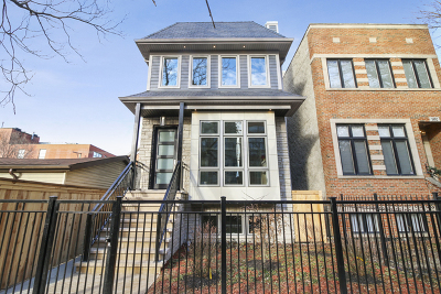 Single Family Home For Sale: 1656 West Huron Street