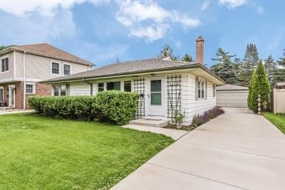 Des Plaines Single Family Home For Sale: 1243 Webster Lane
