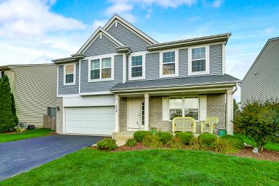 Pingree Grove Single Family Home New: 730 Canterbury Lane