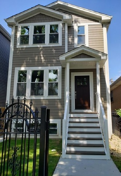 Single Family Home For Sale: 3566 West Cortland Street
