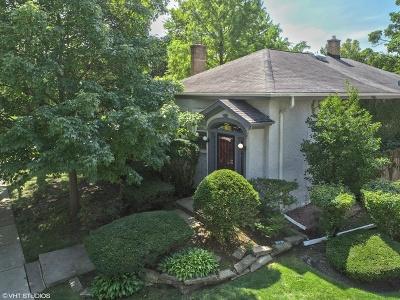 Glenview Single Family Home For Sale: 1100 Washington Street