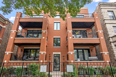 Condo/Townhouse For Sale: 1051 North Damen Avenue #2S
