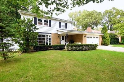 Wood Dale Single Family Home Price Change: 339 Hiawatha Trail