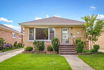 Norridge IL Single Family Home For Sale: $325,000