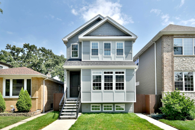 Chicago Single Family Home For Sale: 5043 North Normandy Avenue