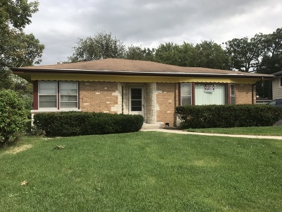 Worth Single Family Home For Sale: 11123 South Depot Street
