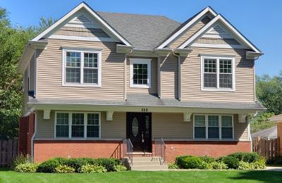Des Plaines Single Family Home For Sale: 529 Radcliffe Avenue