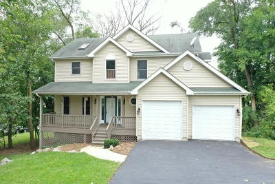 Island Lake Single Family Home For Sale: 3609 Eastway Drive