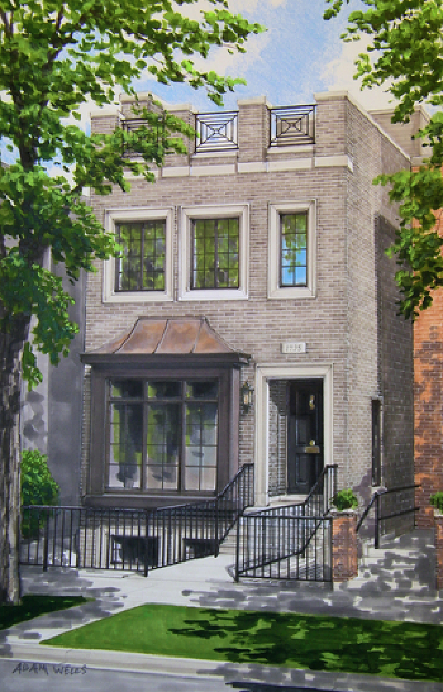 Single Family Home For Sale: 1725 North Wood Street