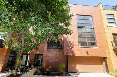 Condo/Townhouse For Sale: 1767 North Hoyne Avenue #L