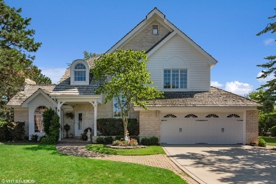 Darien Single Family Home Price Change: 1405 Pine Cove Court