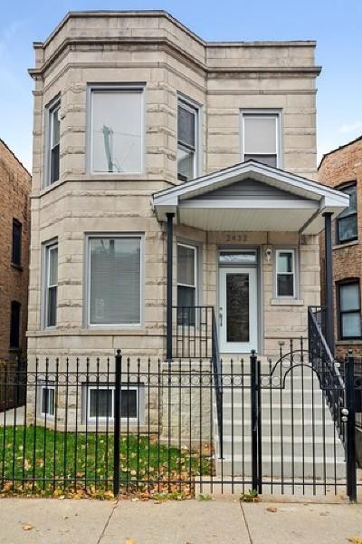 Single Family Home For Sale: 2432 North California Avenue