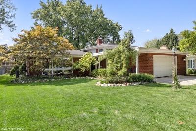 Western Springs Single Family Home For Sale: 5124 Ellington Avenue