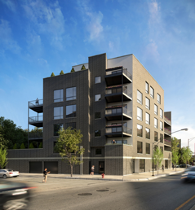 Condo/Townhouse New: 1157 West Erie Street #6